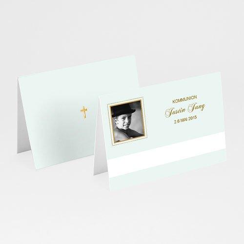 Tischkarten Kommunion - Tischkarte wundervoll 5583