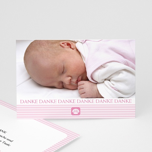Dankeskarten Taufe Mädchen - DanksagungTaufe 563
