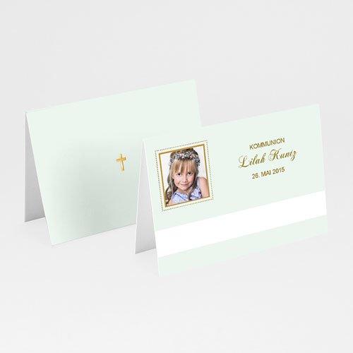 Tischkarten Kommunion - Tischkarte Stilvoll 5691