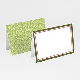 Tischkarten Hochzeit personalisiert - Hochzeitskarte Frühling - 1