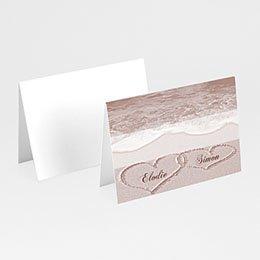 Tischkarten Hochzeit personalisiert - Hochzeitskarte Rom - 1