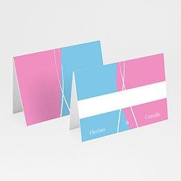 Tischkarten Hochzeit personalisiert - Kinofilm - 1