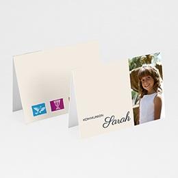Tischkarten Kommunion - Einladungskarte Kommunion - 1