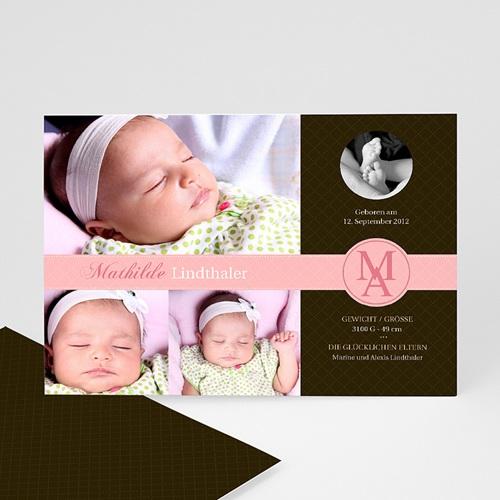 Geburtskarten für Mädchen - Perfektes Design 651