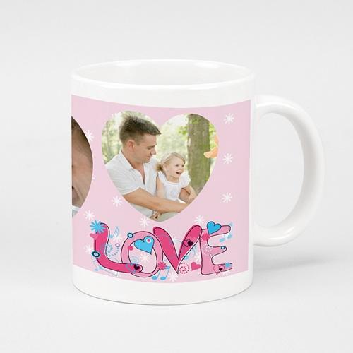 Fototassen - Love pink  6727
