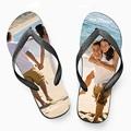 Flip-Flops oder Badesandalen mit eigenem Foto - 1