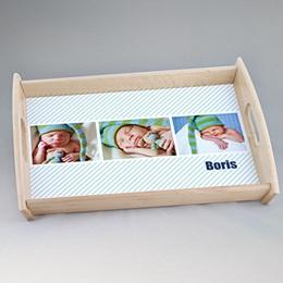 Foto-Tablett  - Babykarte Melvin - 1