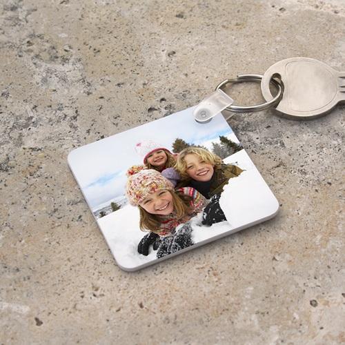 Foto-Schlüsselanhänger - Quadratisch  6795