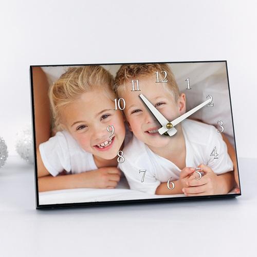 Fotouhr  20 x 14 cm - Fotouhr Mein Fotodesign 7107
