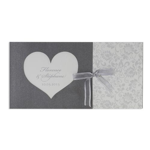 Hochzeitseinladungen traditionell - Romantik 7311