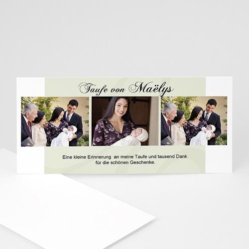Einladungskarten Taufe Mädchen - Maria Lea 751