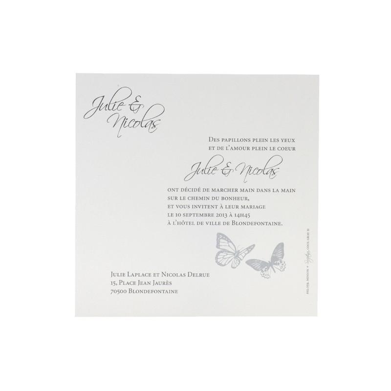 Beispiel Hochzeitseinladungen Modern Blumenfeld Pictures to pin on ...