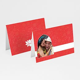 Tischkarten Hochzeit personalisiert - Hochzeitseinladung orientalisch - 1