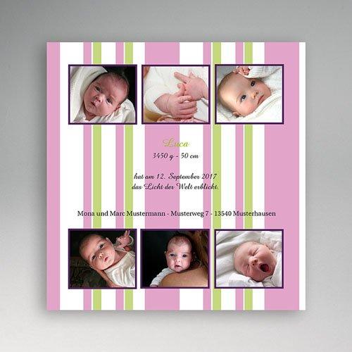 Archivieren - Kleine Fotoserie in rosa-grün 8013