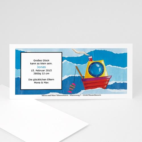 Archivieren - Babykarte Meer 8102