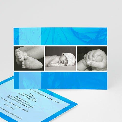 Babykarten für Jungen - Geburtskarte Melvin 1 8170