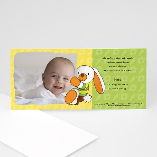 Archivieren - Babykarte Häschen 8204