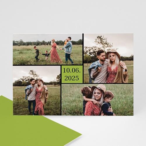 Fotokarten Multi-Fotos 3 & + - Danksagung Hochzeit Foto 8250