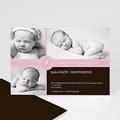 babykarte pink S/W - 1