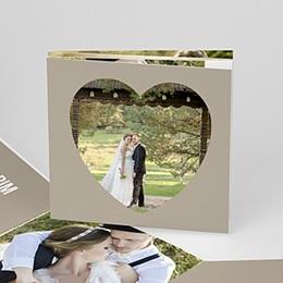 Danksagungskarten Hochzeit  - Sie & Er - 1