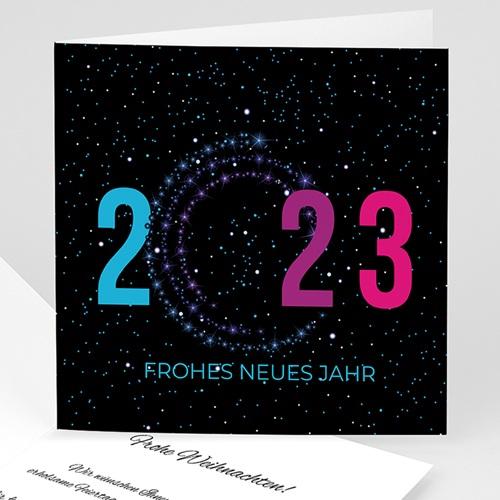 Weihnachtskarten - Neujahrsgrüsse 8400