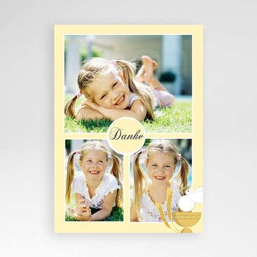 Dankeskarten Kommunion Mädchen - Danke mit kleinem Kelch 85