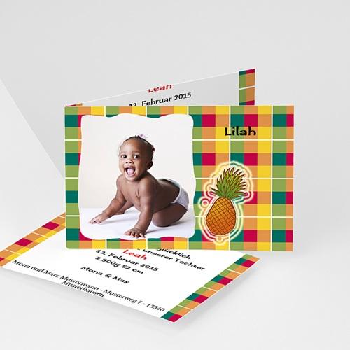 Geburtskarten für Mädchen - Geburtskarte Ony 8526