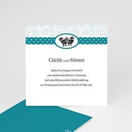 """Einlegekarte individuell - Danksagung """"Lissabon"""" - 1"""