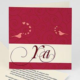 Hochzeitseinladungen modern - Hochzeitskarte Kopenhagen - 1