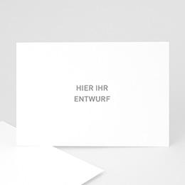 Hochzeitseinladungen modern - 100% ENTWURF - 1