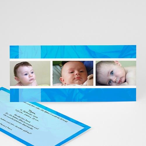 Babykarten für Jungen - Melvin - blau 8989