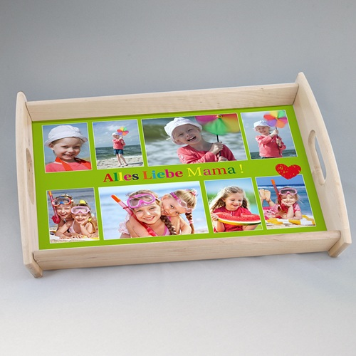 Foto-Tablett  - Fototablett Alles Liebe Mama 9063