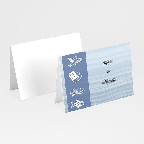 Tischkarten Kommunion - Tischkarte Erstkommunion 9195