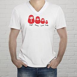 Tee-Shirt  - Russische Puppen - 1