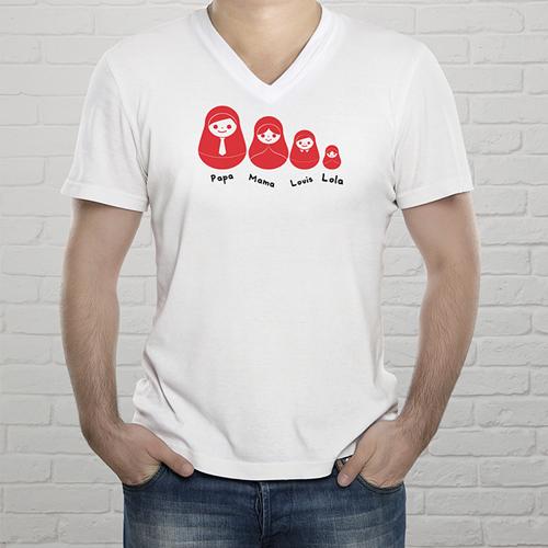Tee-Shirt  - T-shirt Russische Puppen 9254