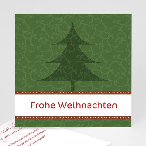 Weihnachtskarten - Weihnachtskarte Tannebaum 9338