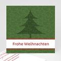 Weihnachtskarte Tannebaum - 1