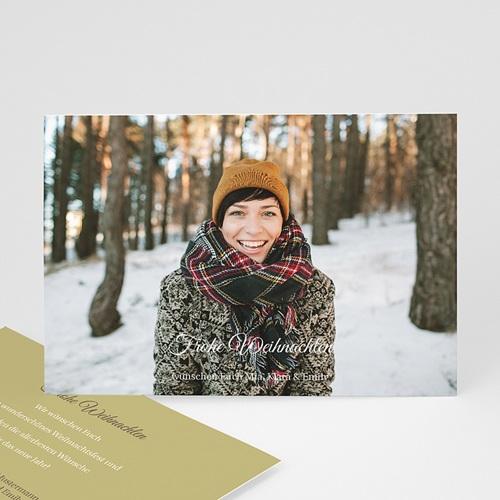 Weihnachtskarten - Weihnachtskarte Pur 9342