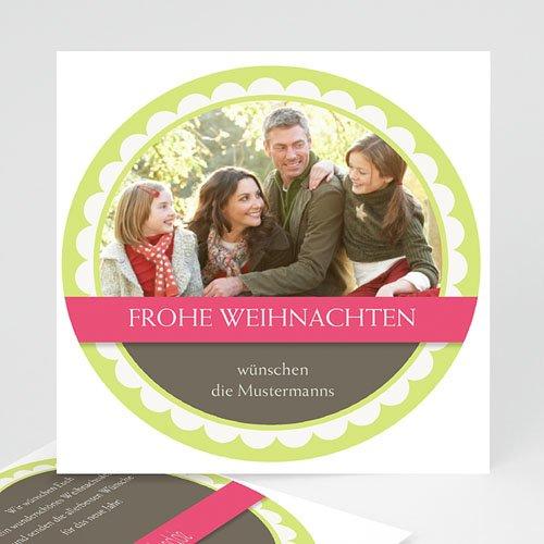 Weihnachtskarten - Weihnachtskugel 9346