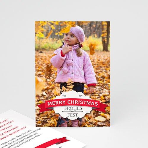 Weihnachtskarten - Weihnachtskarte Xmas 9378