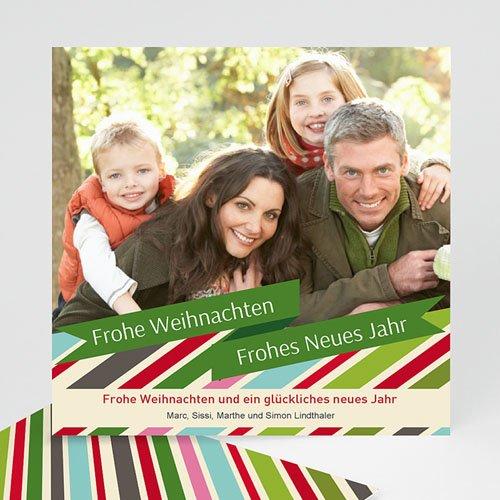 Weihnachtskarten - Weihnachtskarte Pastell 9400