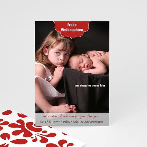 Weihnachtskarten - Schlichtes Design 9428
