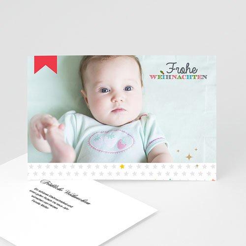 Weihnachtskarten - Weihnachtskarte Bordeaux 9432