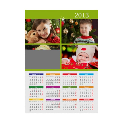 Jahresplaner - Weihnachtskarte 9546