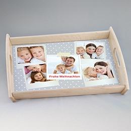 Foto-Tablett  - Babykarte Polaroid - 1