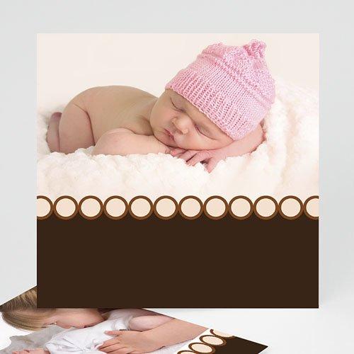 Geburtskarten für Mädchen - Hallo, ich bin da! 960