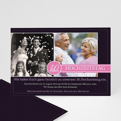 Silberhochzeit und goldene Hochzeit  - Einladung Venice 988