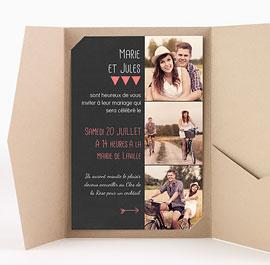 Pocketfold Einladungskarten