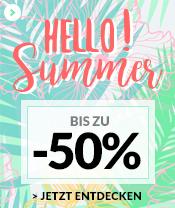 Hello Summer BIS ZU -50%