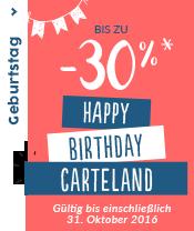 Geburtstag 20 Jahre Carteland